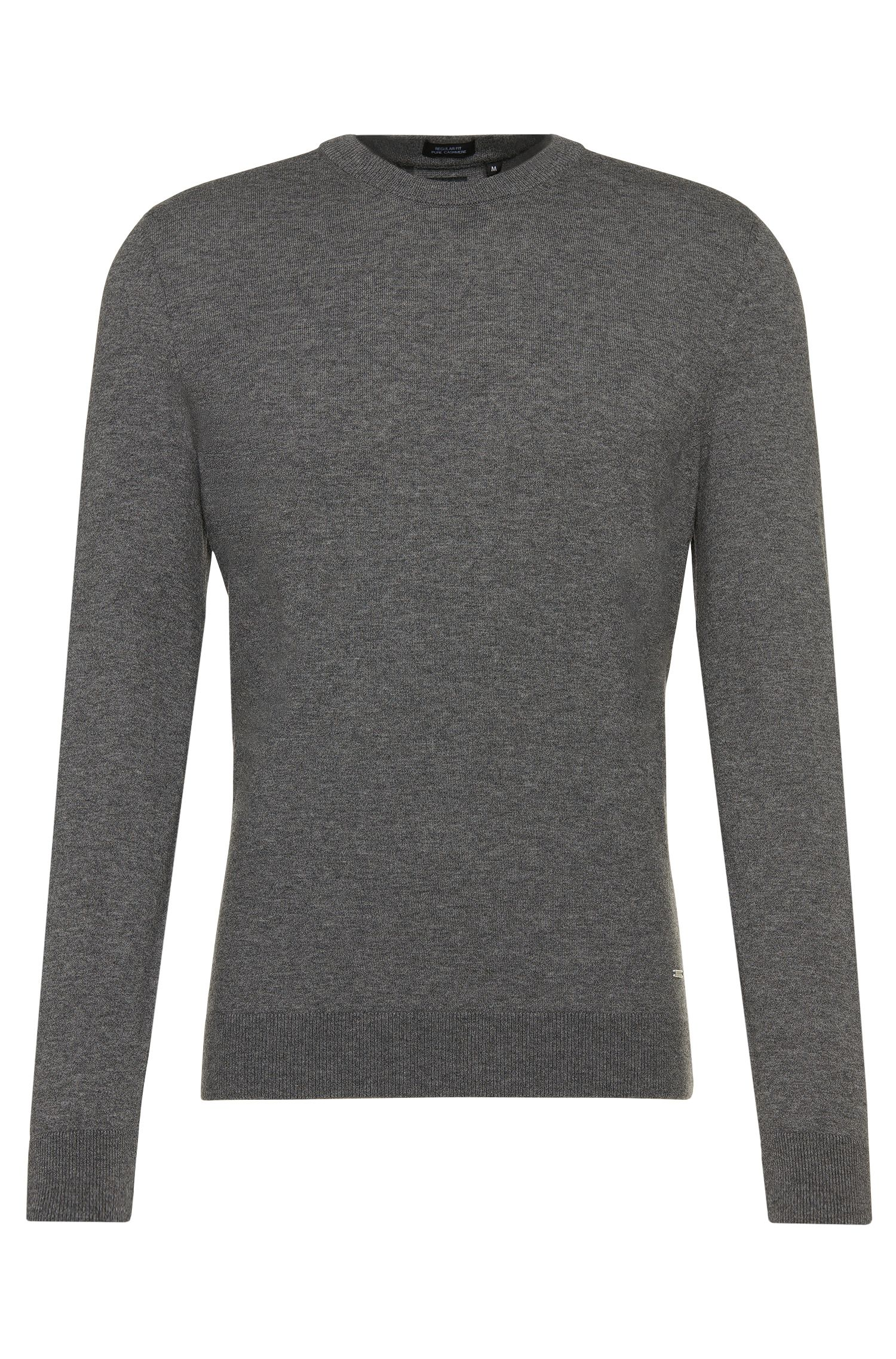 Maglione sartoriale regular fit in cashmere: 'T-Borello'