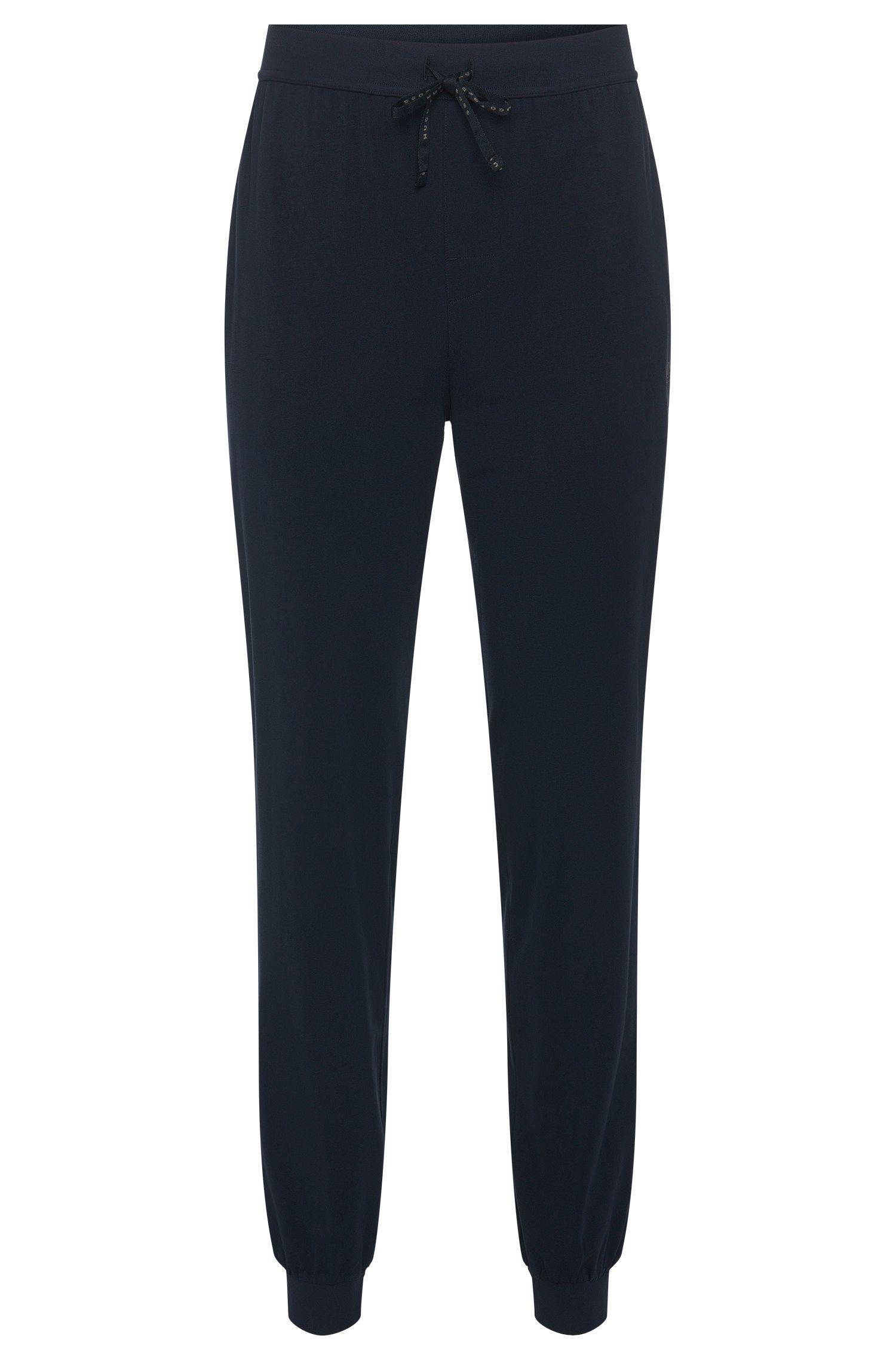 Sweathose aus Stretch-Baumwolle mit Tunnelzug: 'Long Pant CW Cuffs'