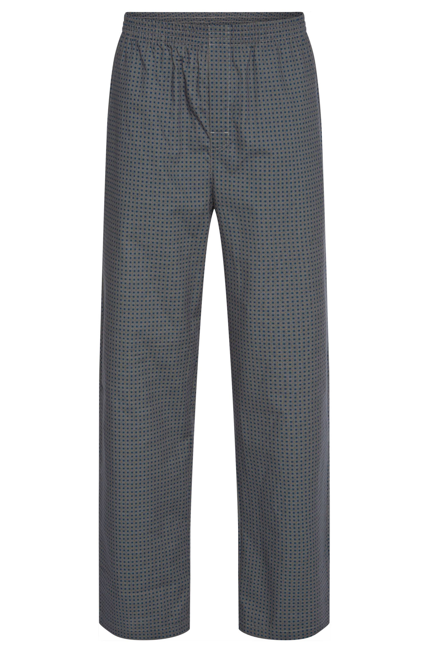 All-over patterned pyjama bottoms in cotton: 'Long Pant CW'