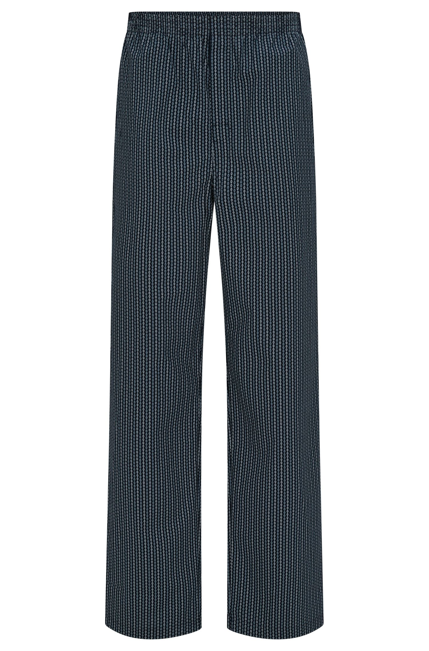 "Pantaloni del pigiama con disegni ""all over"" in cotone: 'Long Pant CW'"
