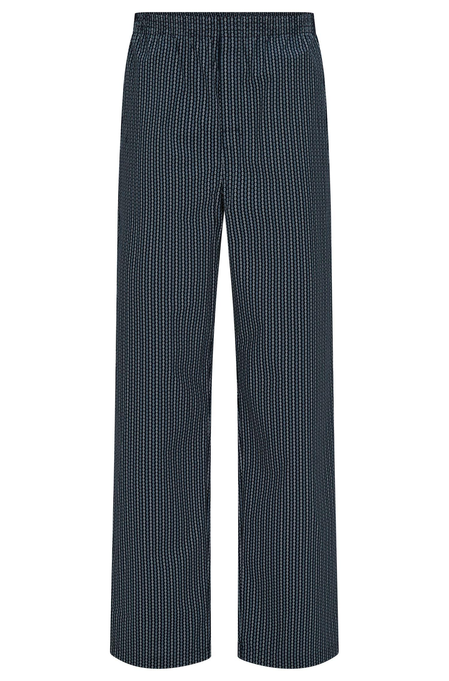 Pantalon de pyjama en coton à motif intégral: «Long Pant CW»