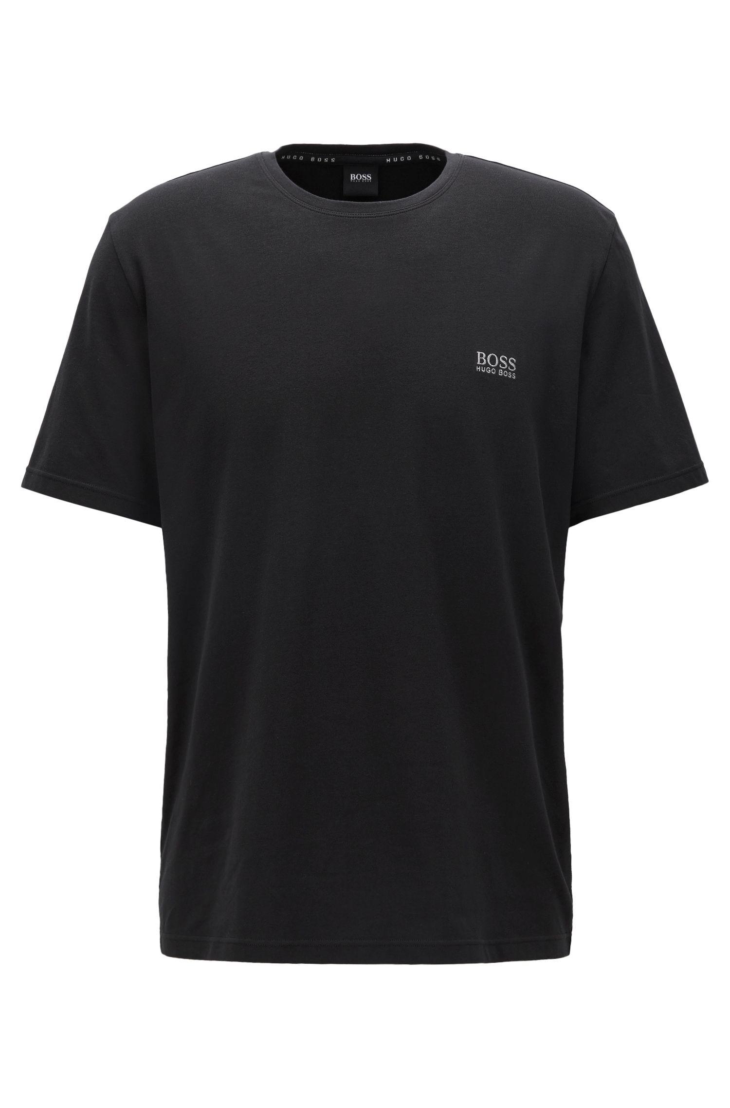 Lounge-T-shirt van single jersey katoen