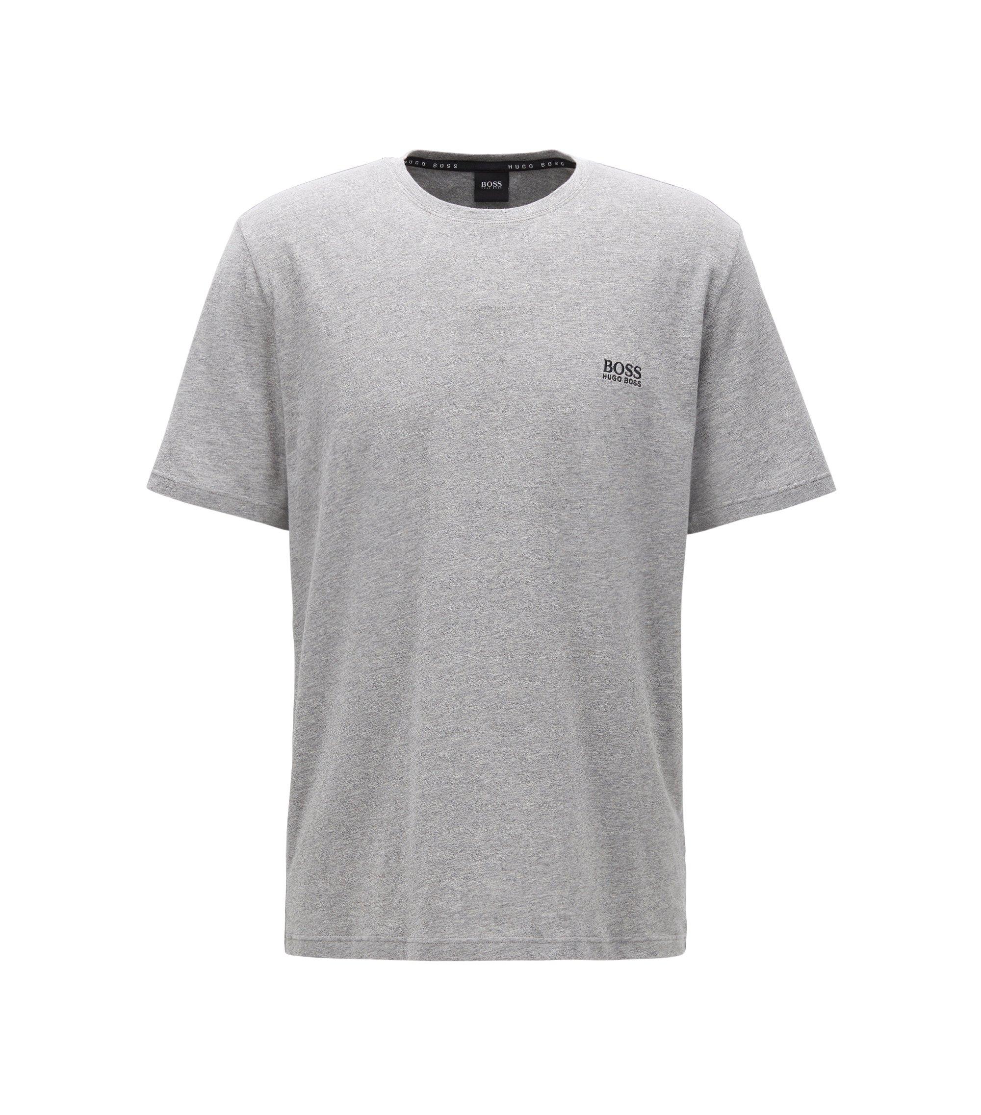 Lounge-T-shirt van single jersey katoen, Grijs