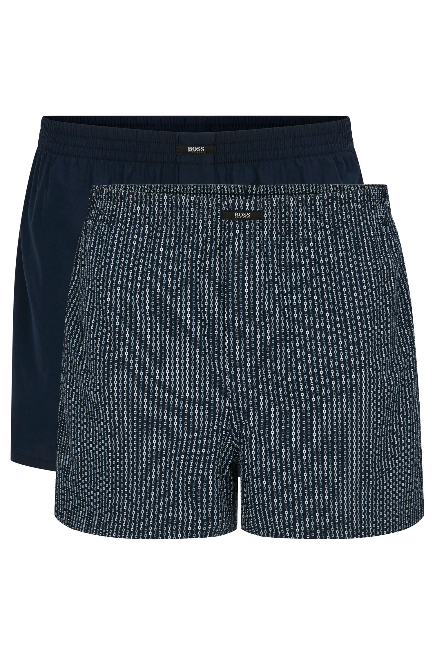Cotton boxer shorts in a double pack: 'Boxer CW 2P'