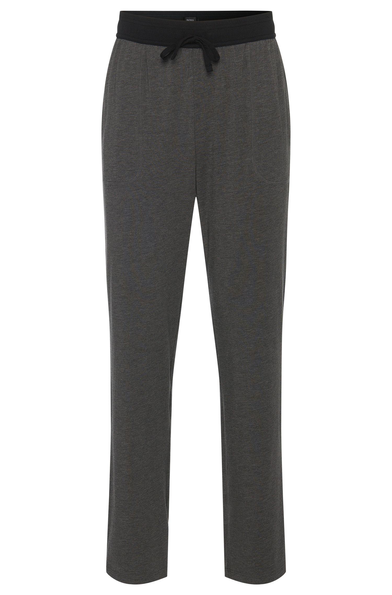 Pantalón de pijama en mezcla de algodón con cintura en color contrastado: 'Long Pant CW'