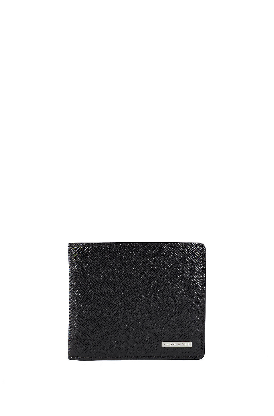 be27afdc414 BOSS - Signature Collection trifold wallet in textured leather by BOSS