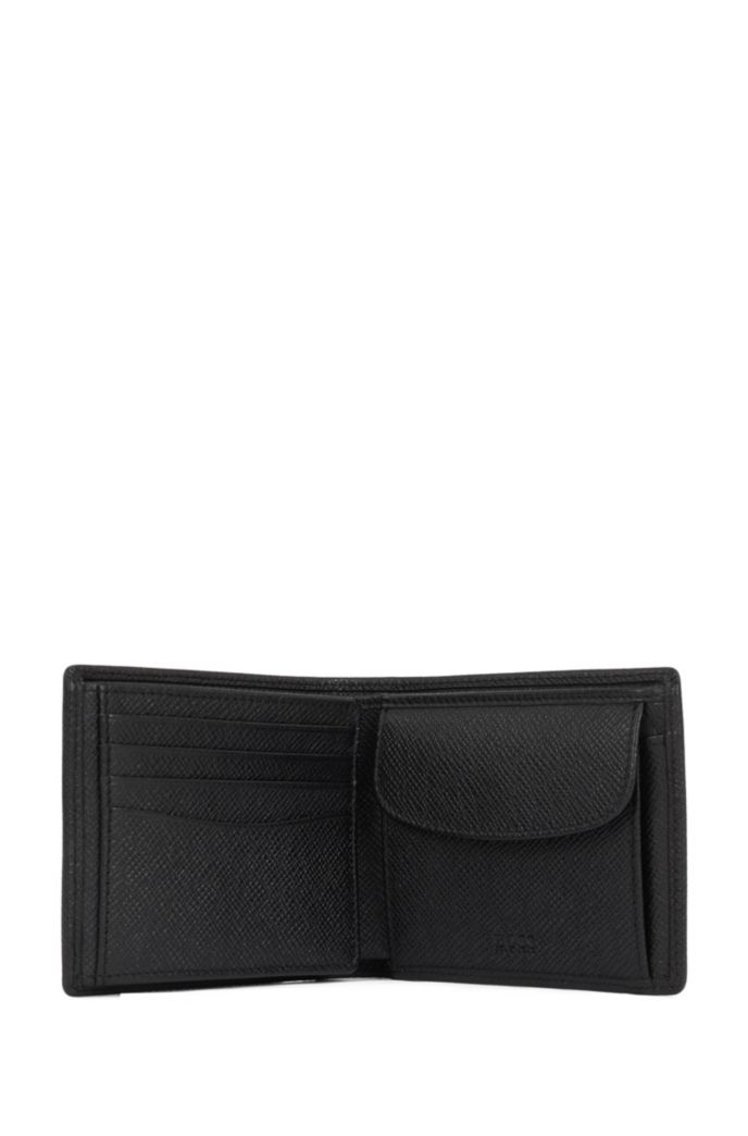 Signature Collection trifold wallet in palmellato leather with coin pocket