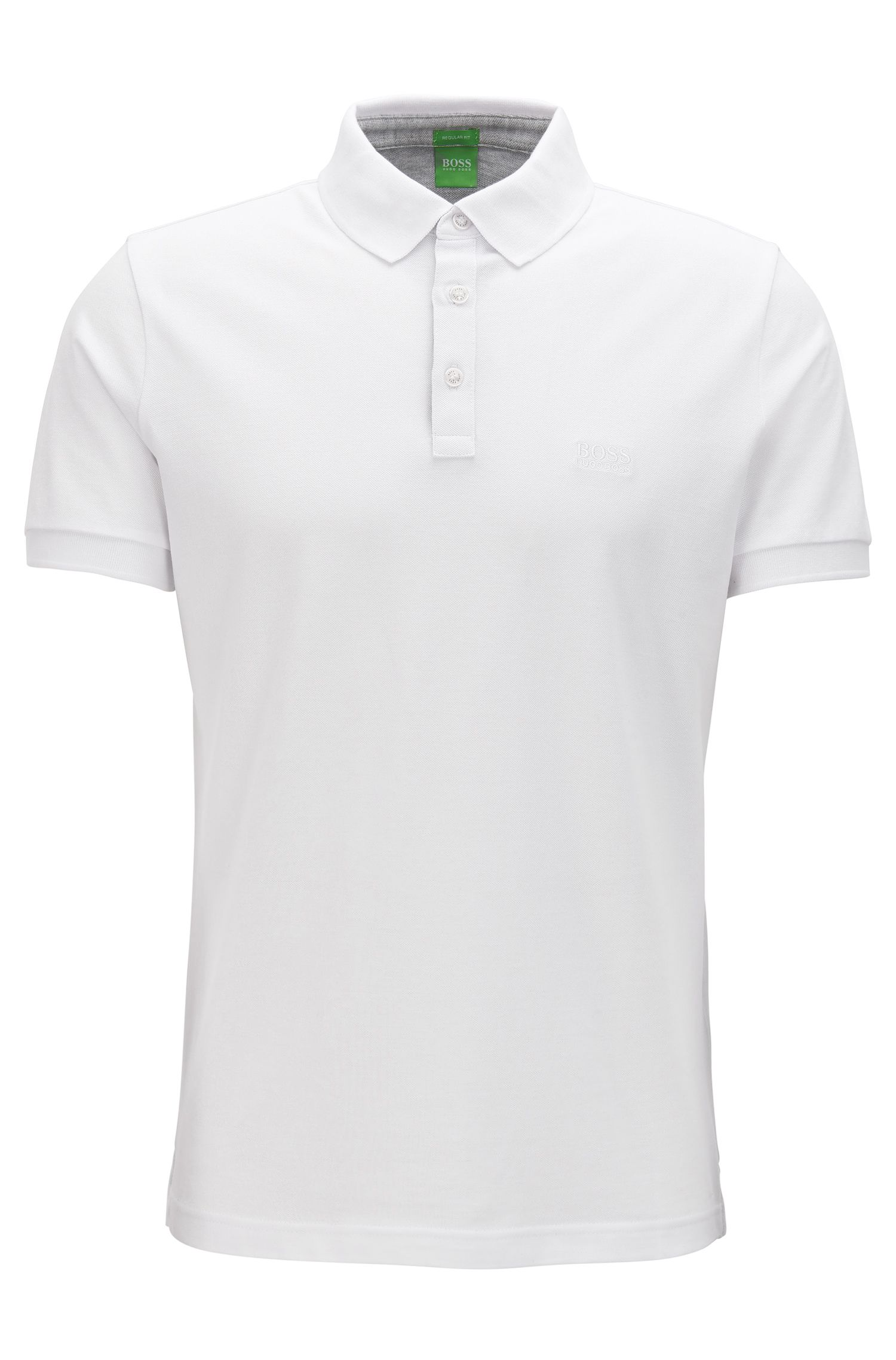 Polo Regular Fit rehaussé de détails contrastants en coton Oxford
