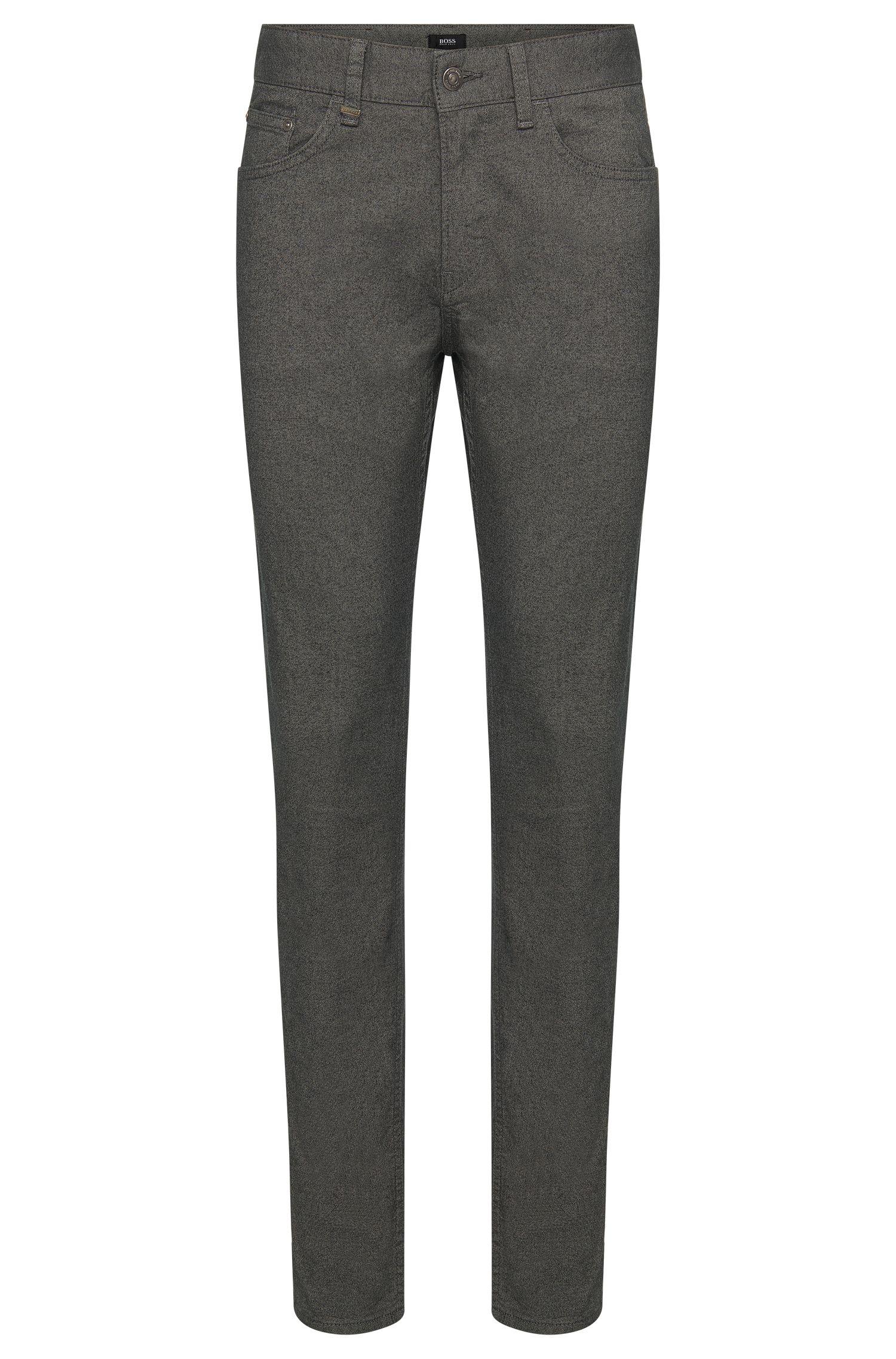 Pantalón slim fit en algodón elástico con estilo de cinco bolsillos: 'Delaware3-20'