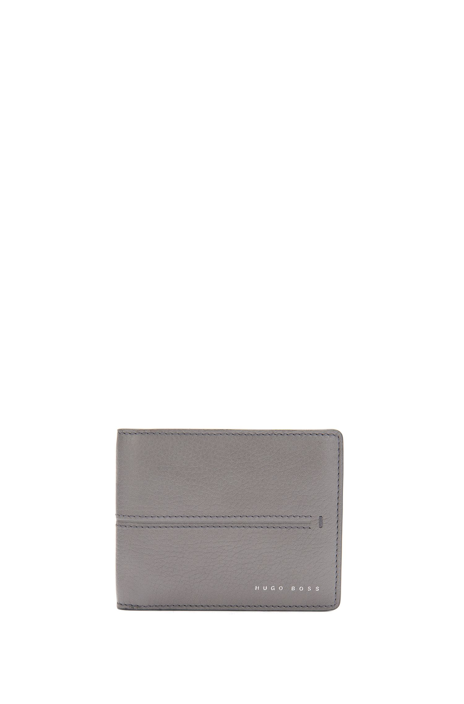 Small-format leather wallet: 'Elite_6 cc'
