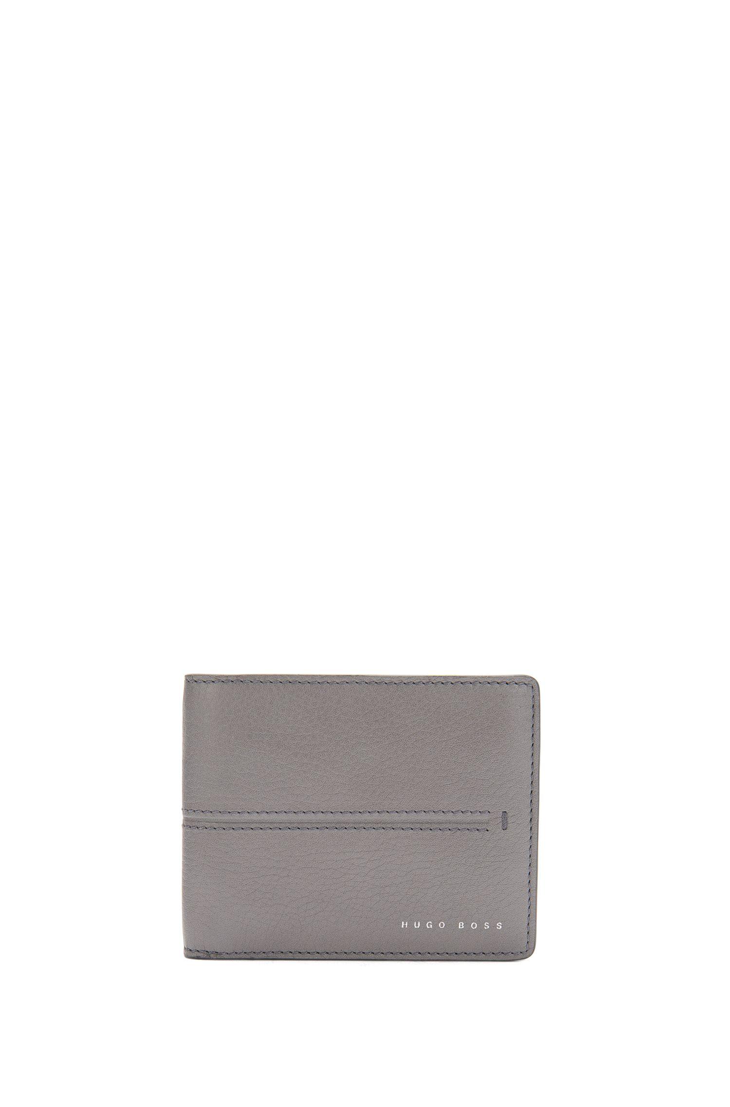 Kleinformatige Geldbörse aus Leder: 'Elite_6 cc'