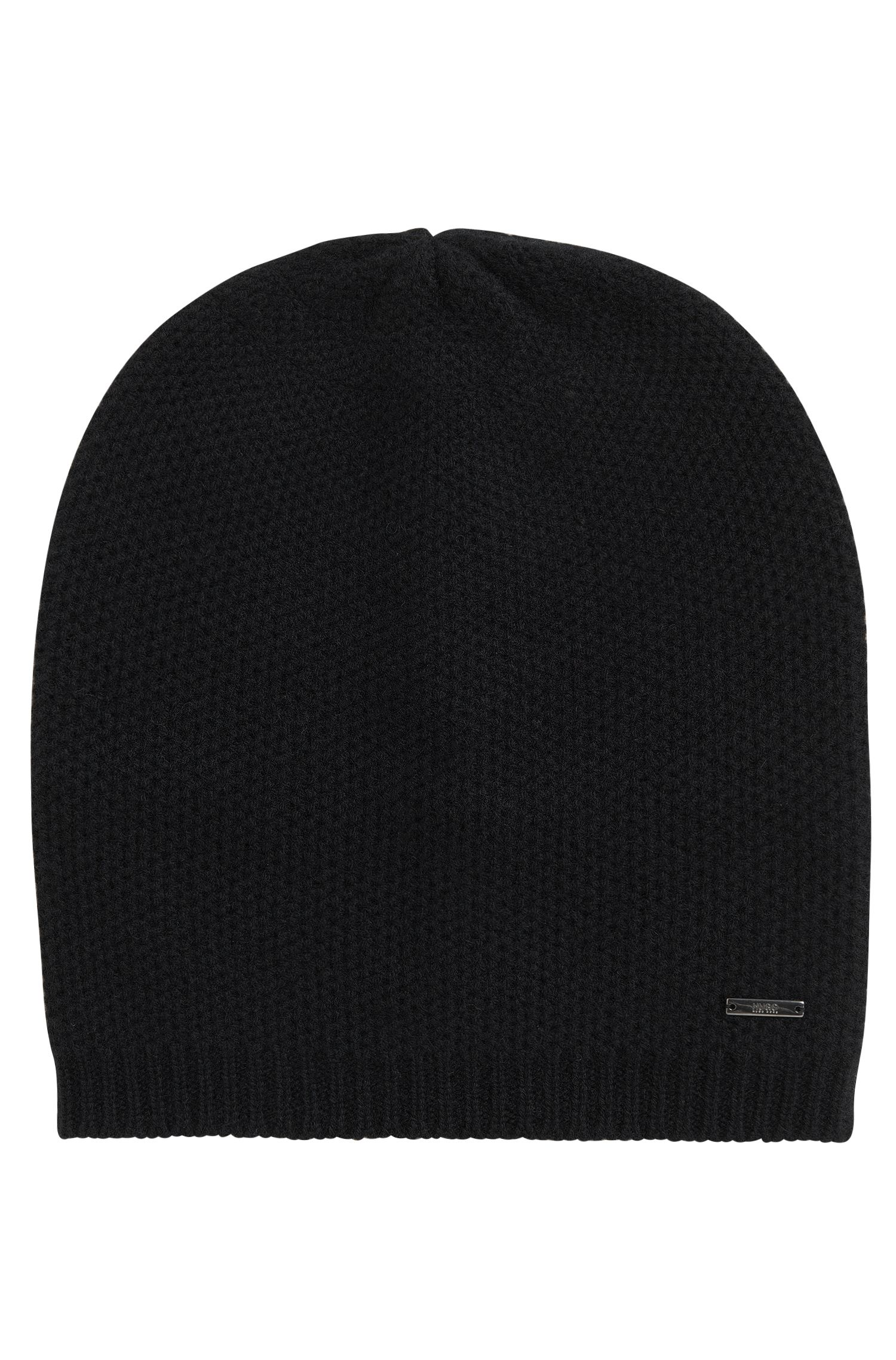 Beanie hat in soft cashmere