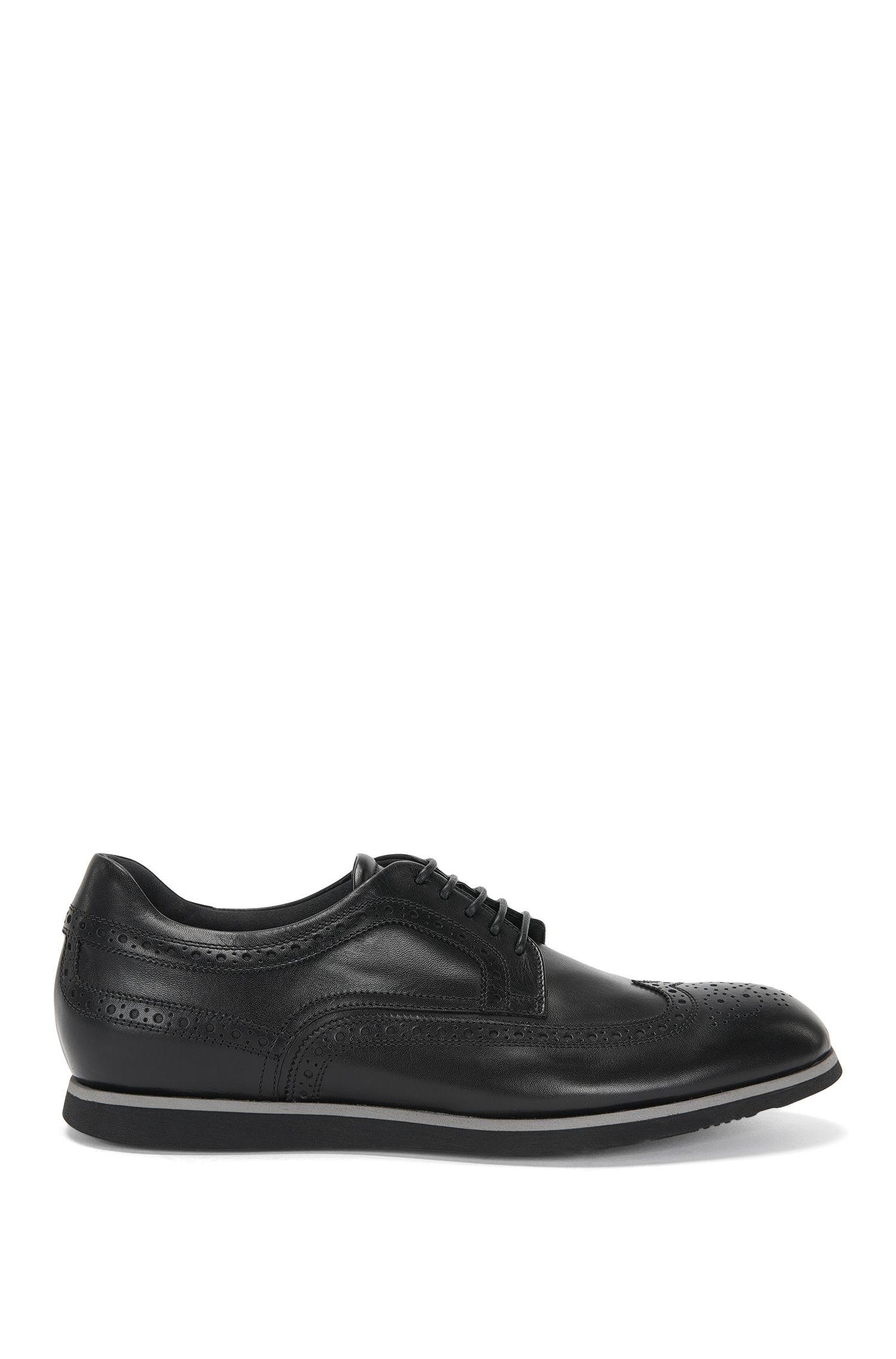 Chaussures à lacets de style Richelieu, en cuir: «Pegaso_Derb_ltwtb»