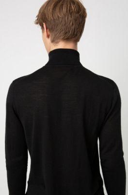 056e8c714 Turtle-neck sweater in a Merino wool blend