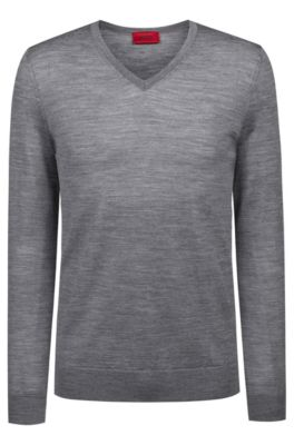 dd0a098c28 Men's Designer Knitwear | HUGO BOSS
