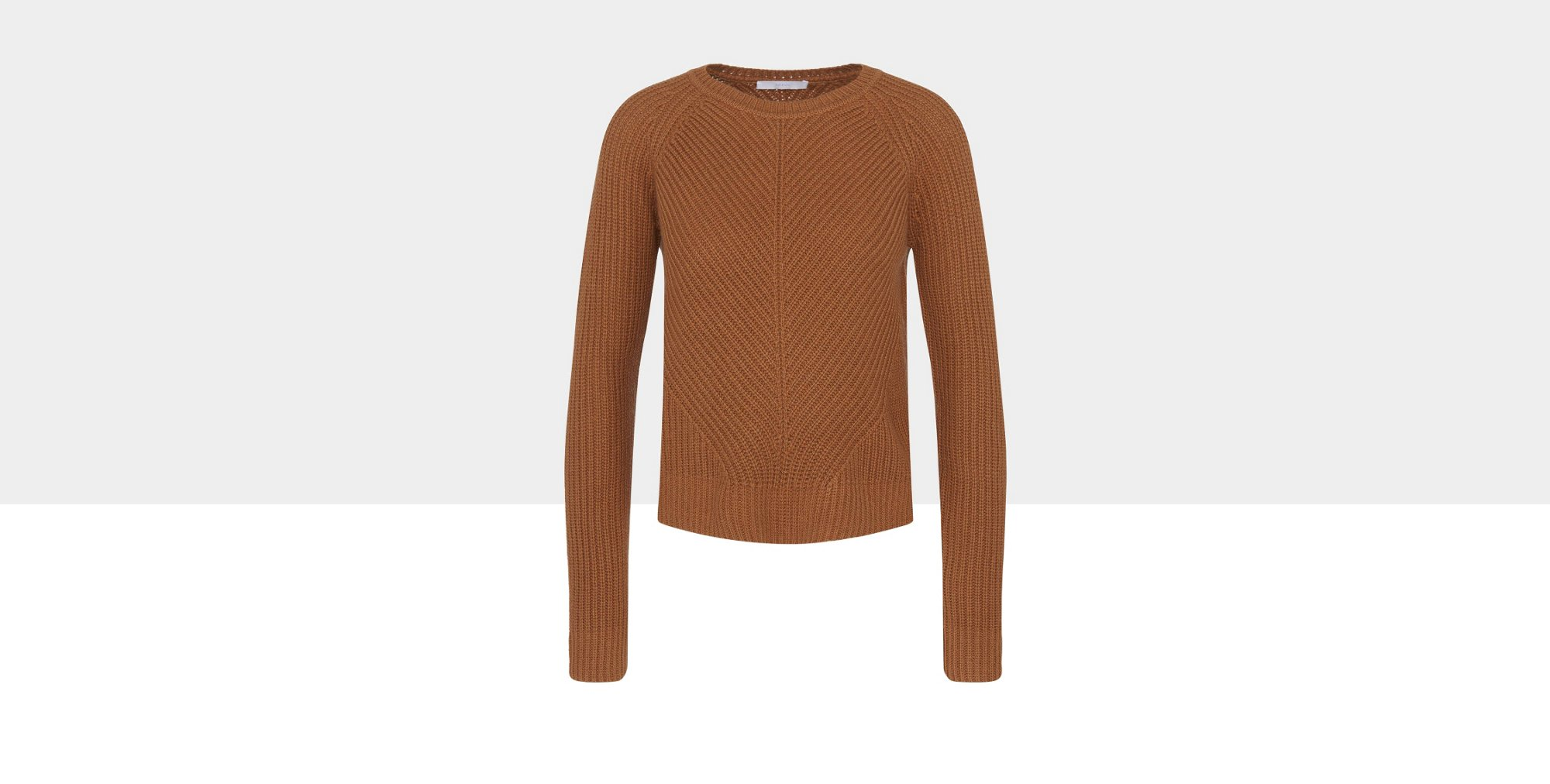 Sweater in a new-wool blend with yak wool and cashmere: 'Fareda'
