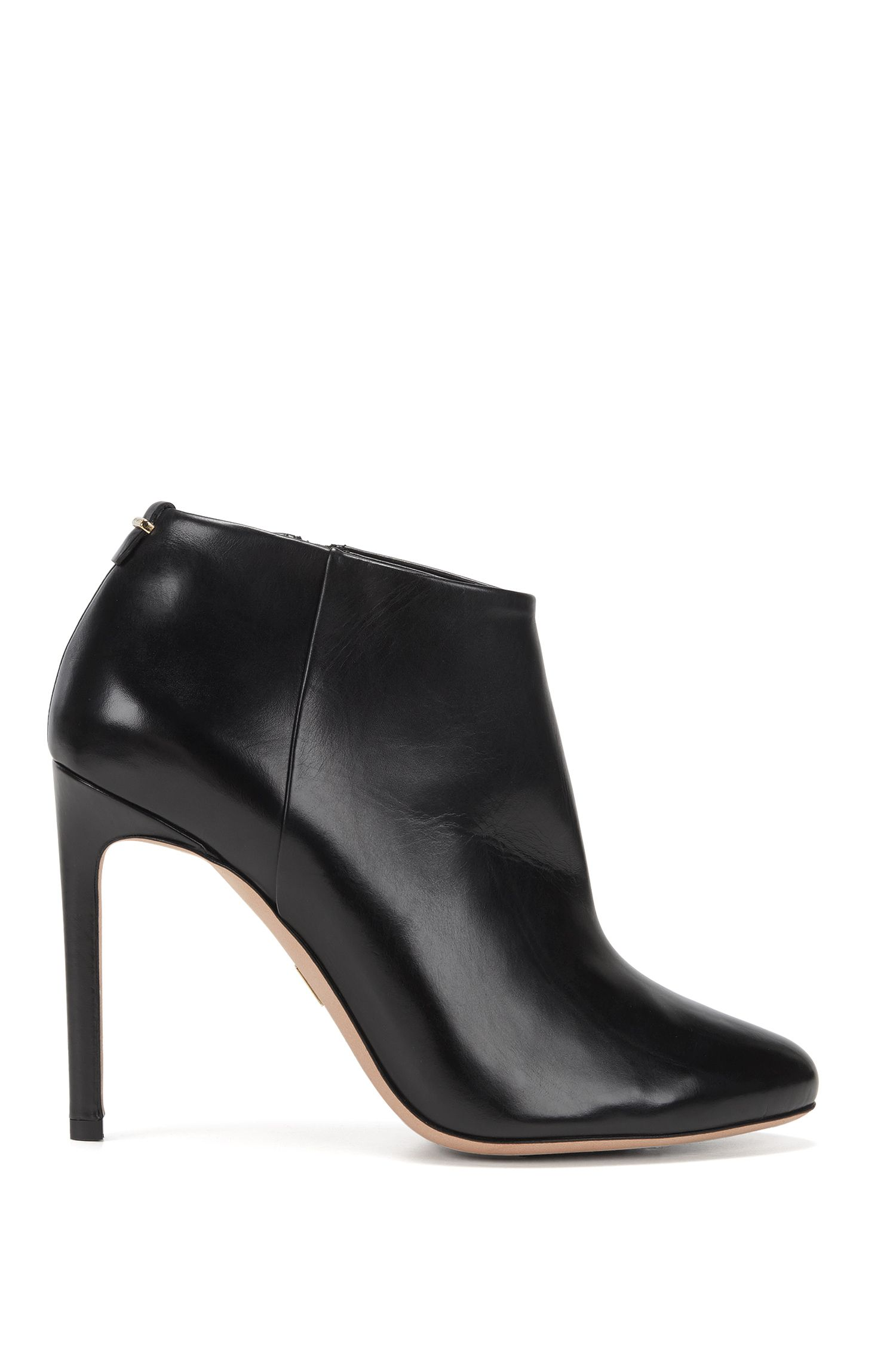 Bottines BOSS Luxury Staple en cuir italien