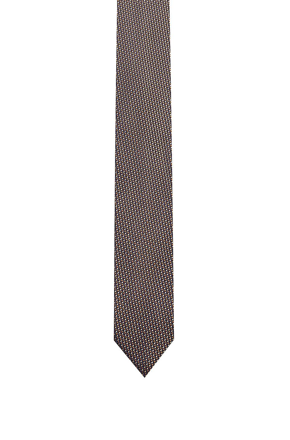 88b1d02da9 HUGO - Silk tie with jacquard micro pattern