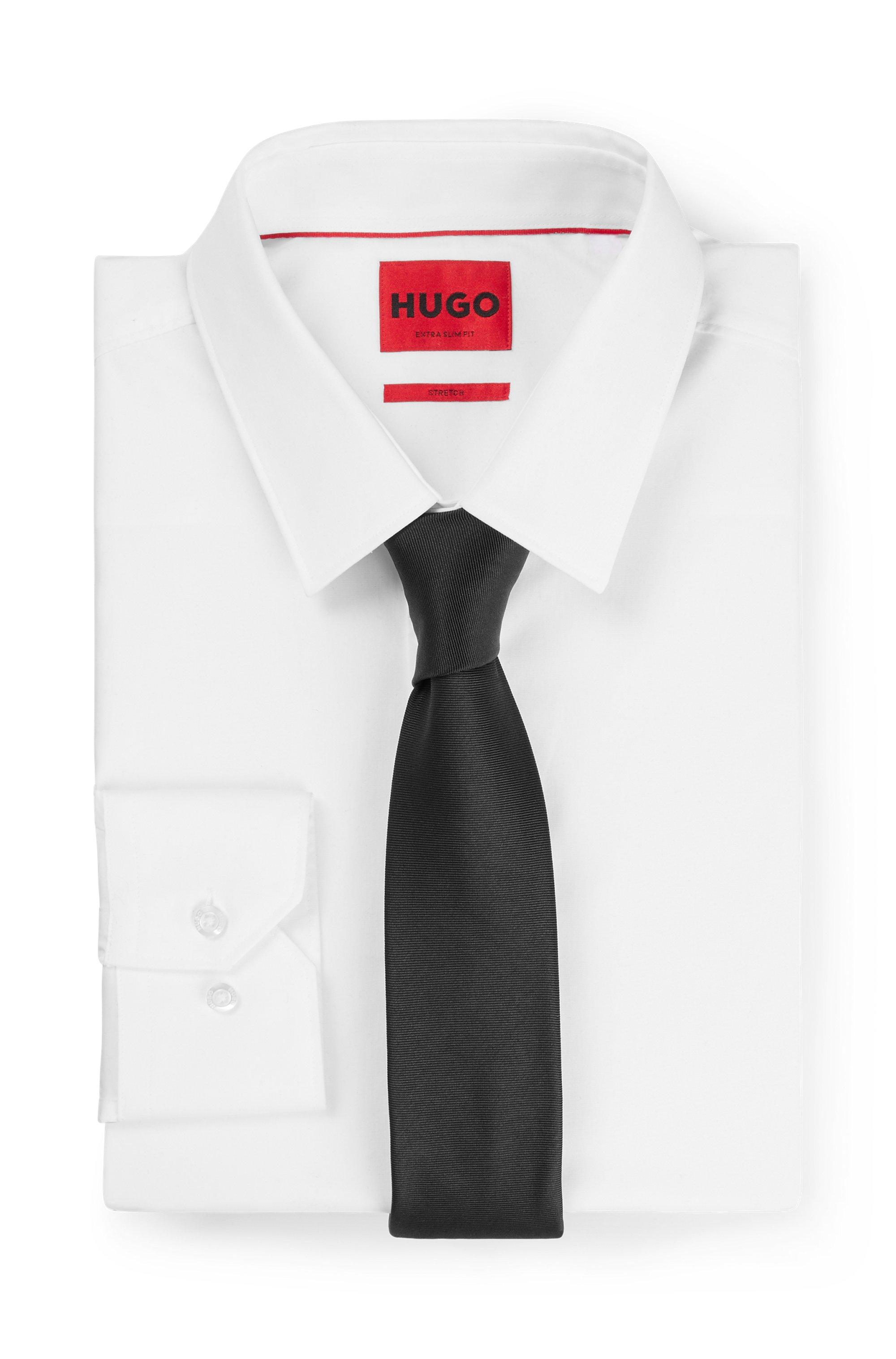 Tie in pure-silk twill