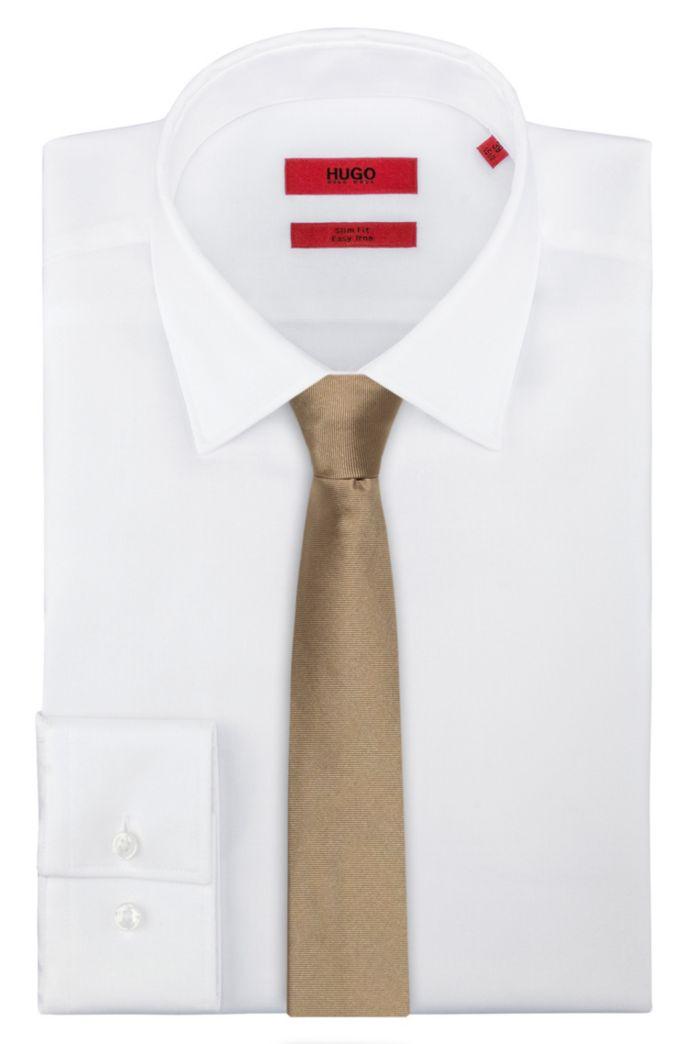Cravate en twill de pure soie