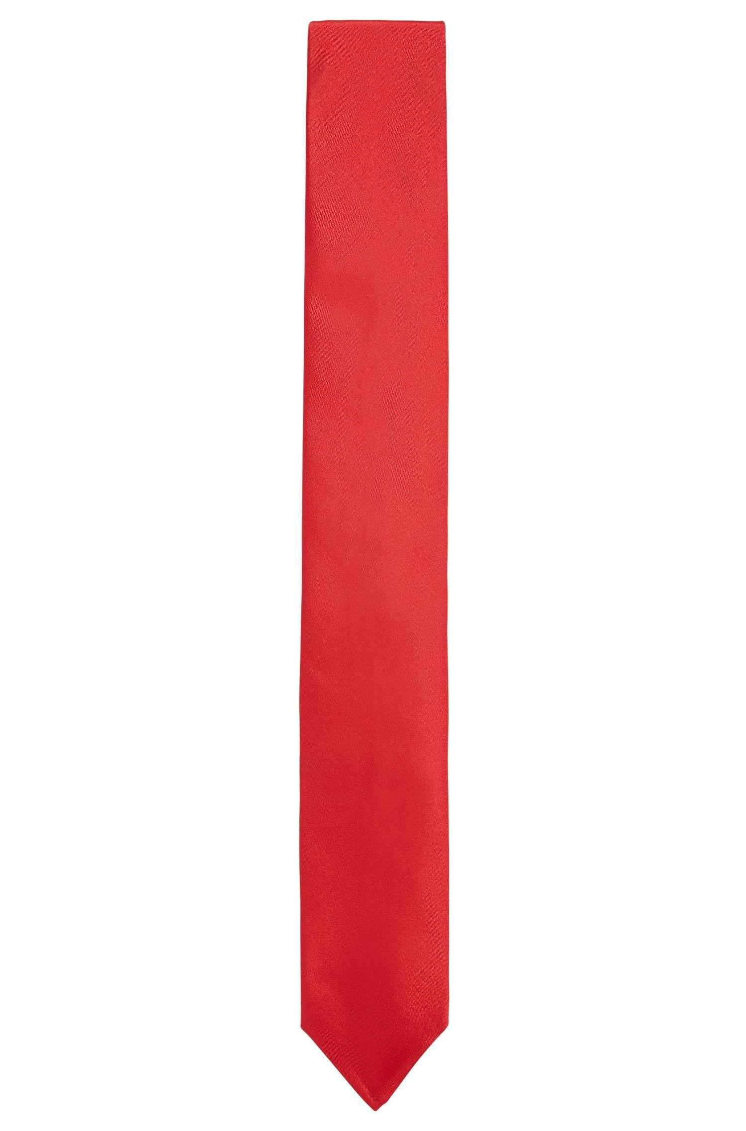 Jacquard tie in fine silk