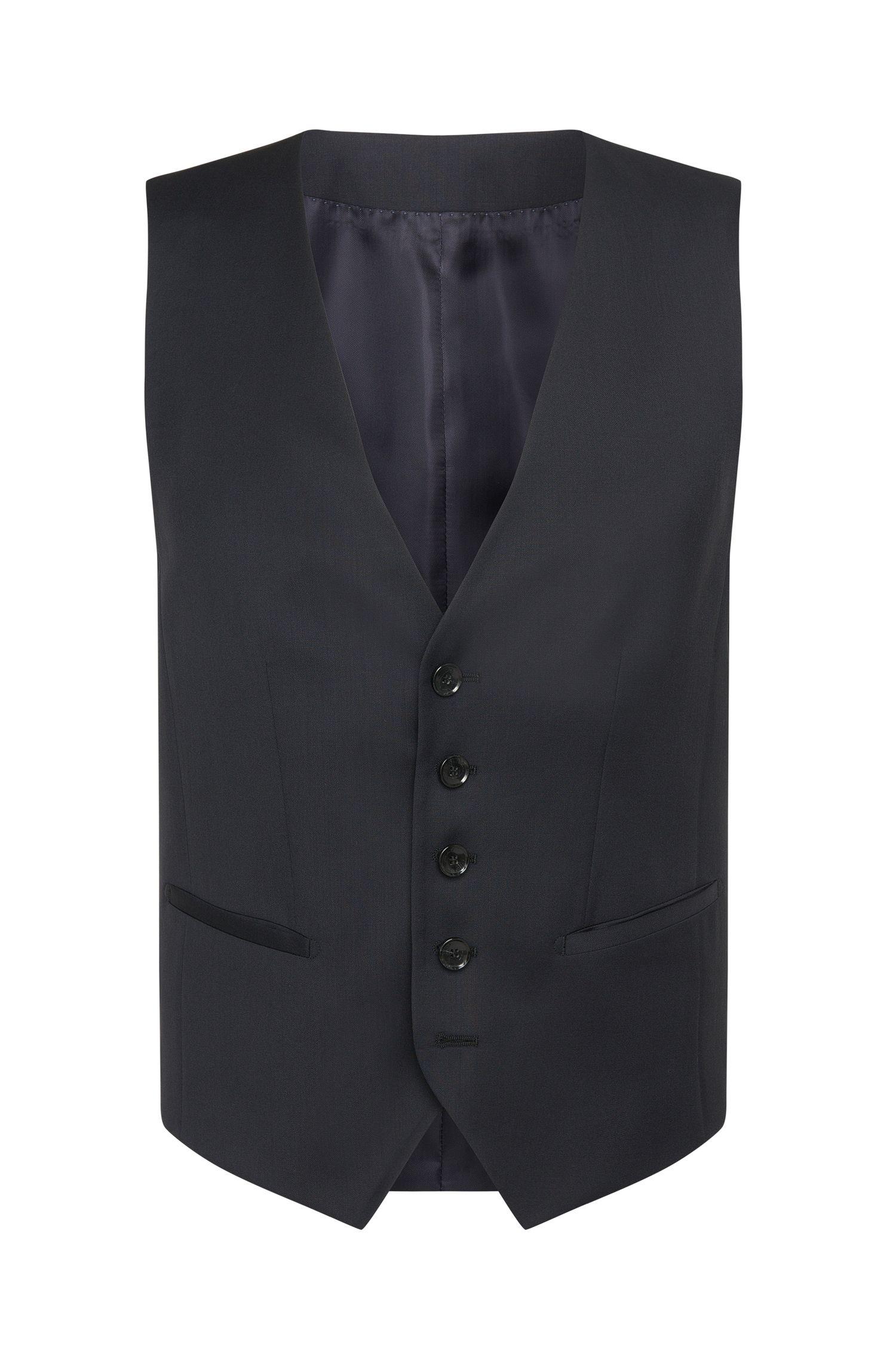 Gilet Slim Fit Tailored en laine vierge: «T-Harvers2 WE2»