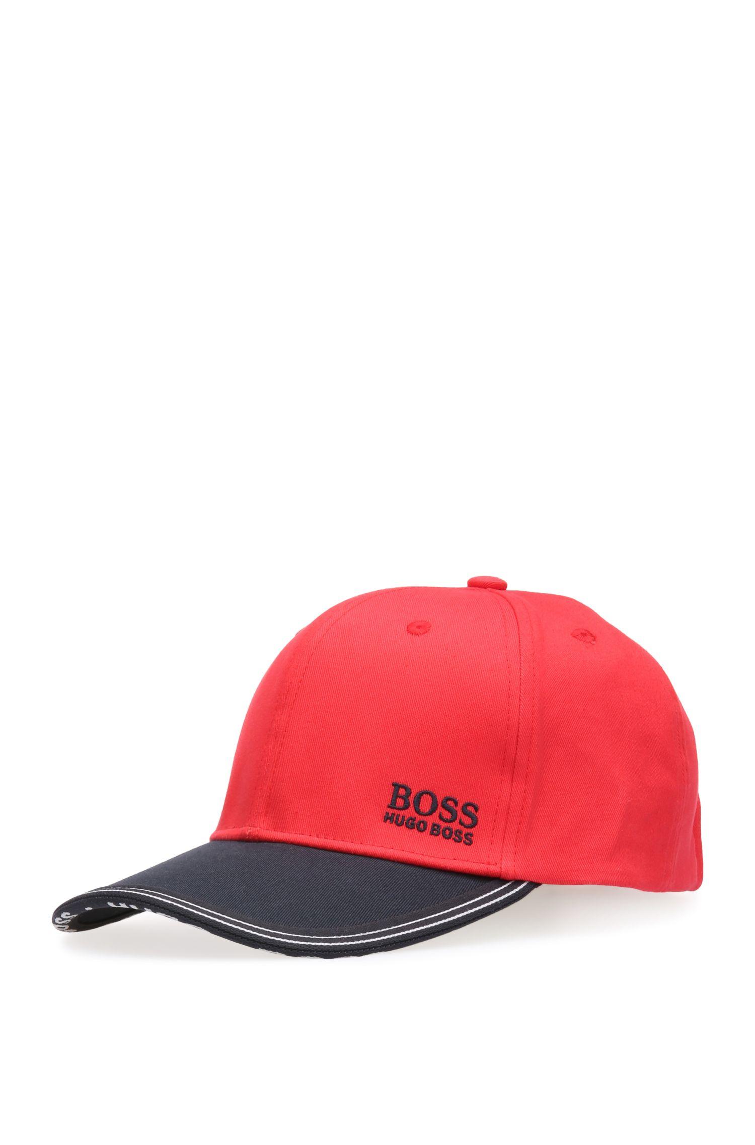 Zweifarbige Basecap aus Baumwolle: ´Cap 13`