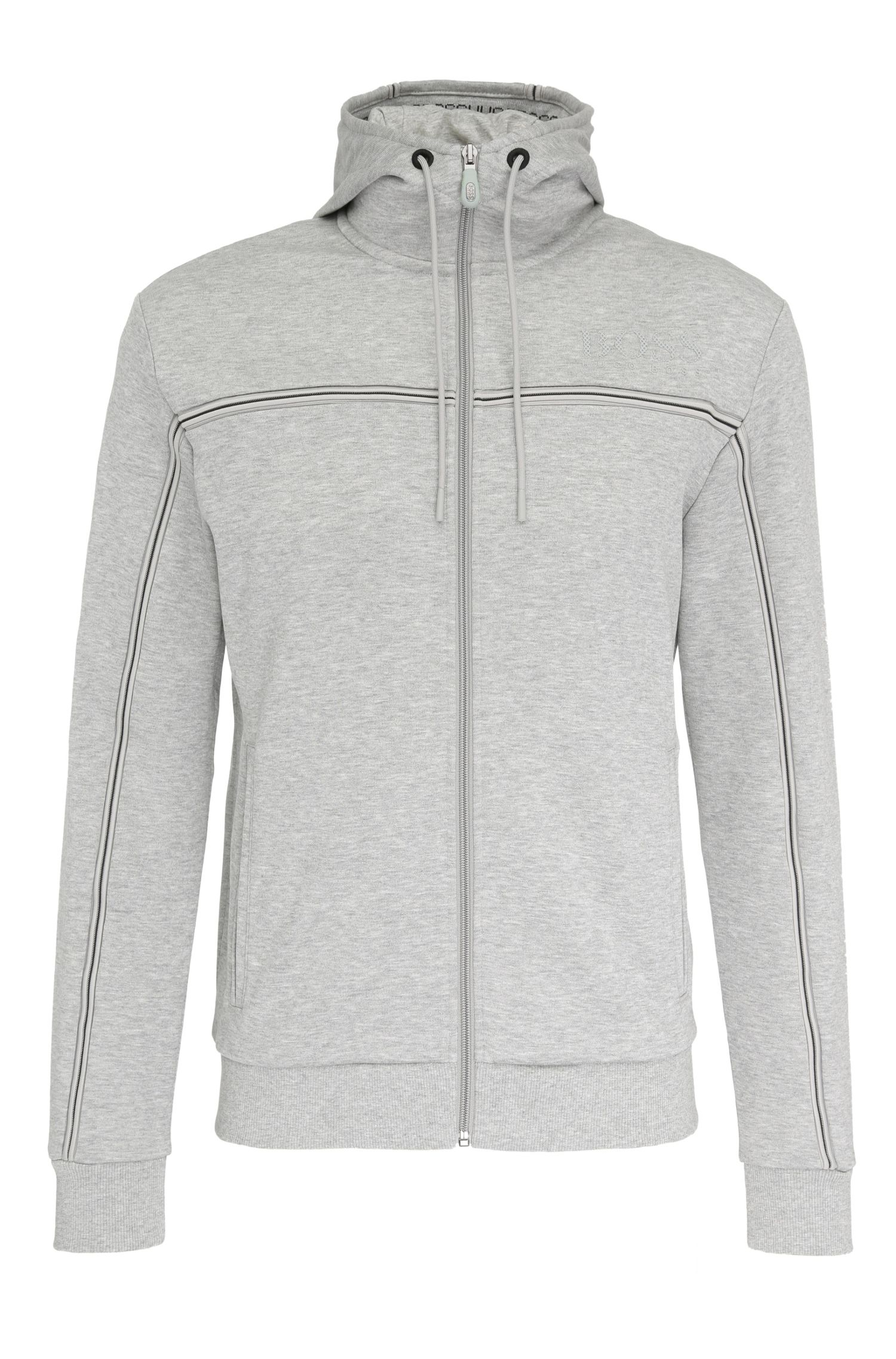 Blouson sweat Regular Fit en coton mélangé : « Saggy »