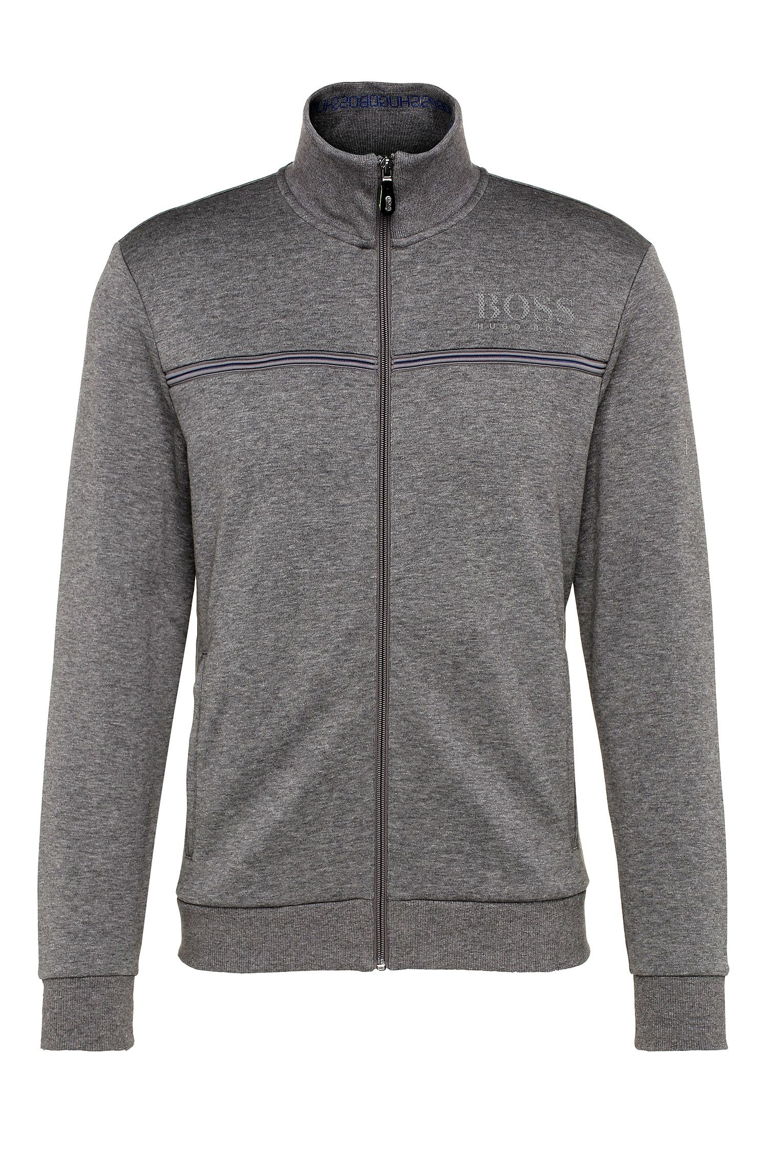 Blouson sweat Regular Fit en coton mélangé : « Skaz »