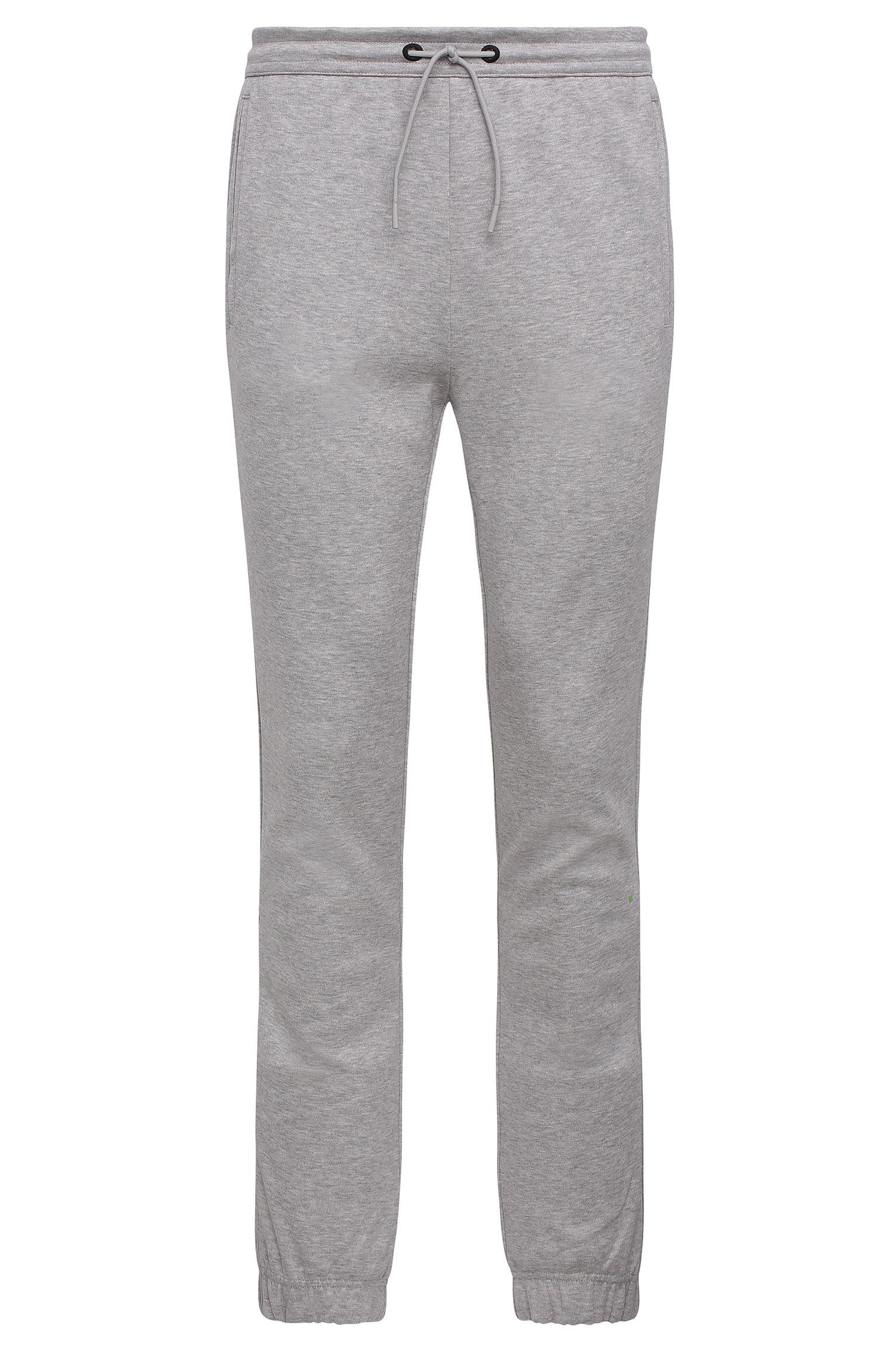 Pantalon de jogging Regular Fit en coton mélangé chiné : « Hadiko »