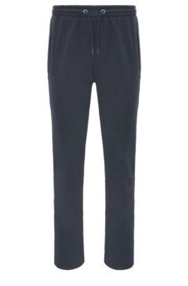 Pantalón de chándal en mezcla de algodón: 'Hadim', Azul oscuro
