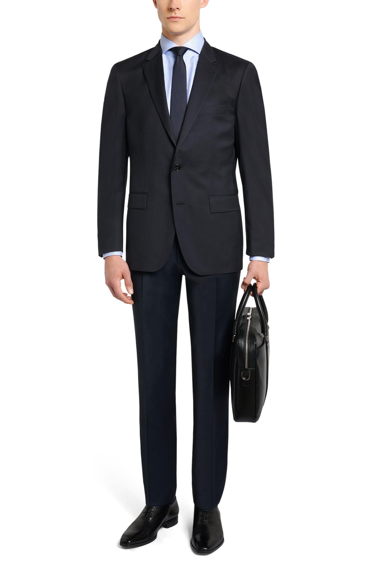 Americana regular fit Tailored en lana virgen: 'T-Howard4'