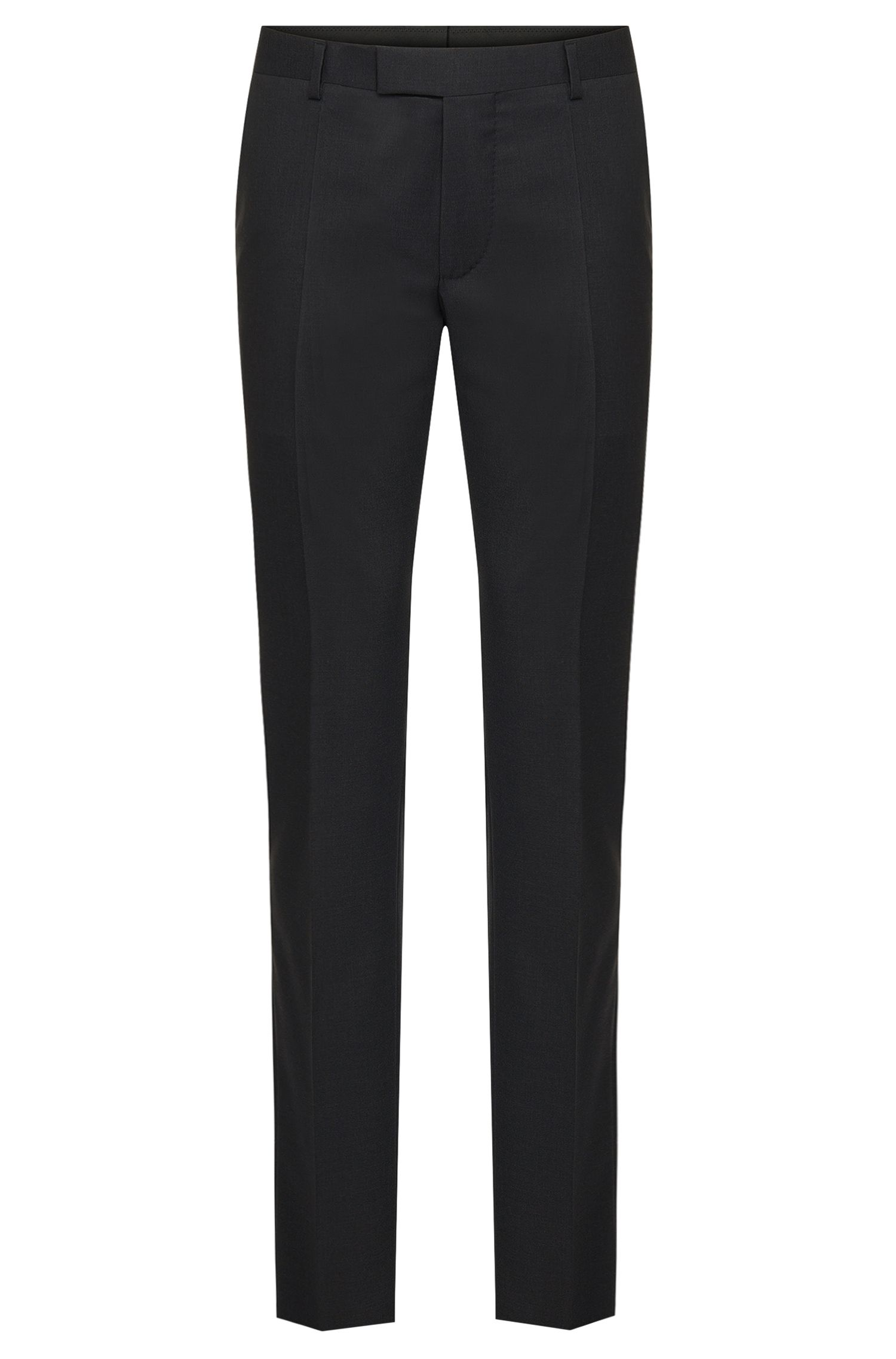 Slim-fit Tailored trousers in pure new wool: 'T-Court5'