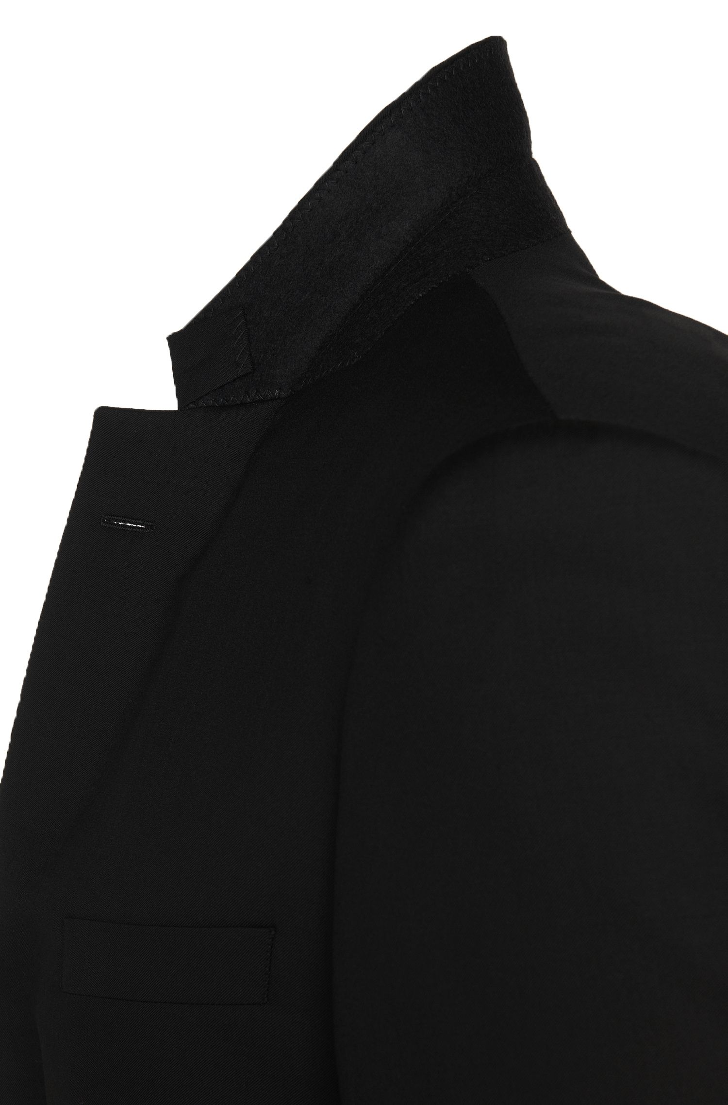 Americana Tailored slim fit en pura lana virgen: 'T-Harvers2'