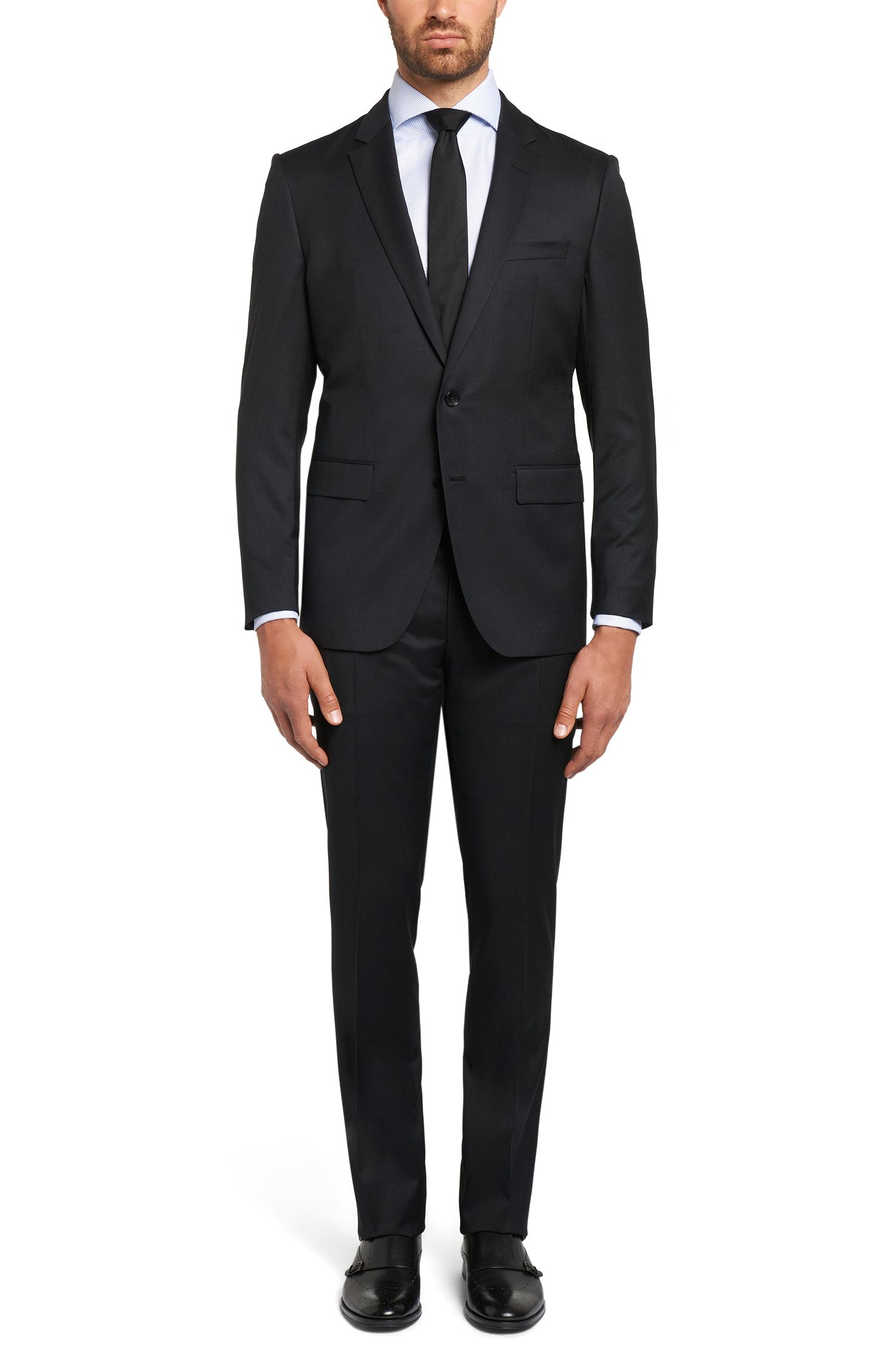 Giacca Tailored slim fit in pura lana vergine: 'T-Harvers2'