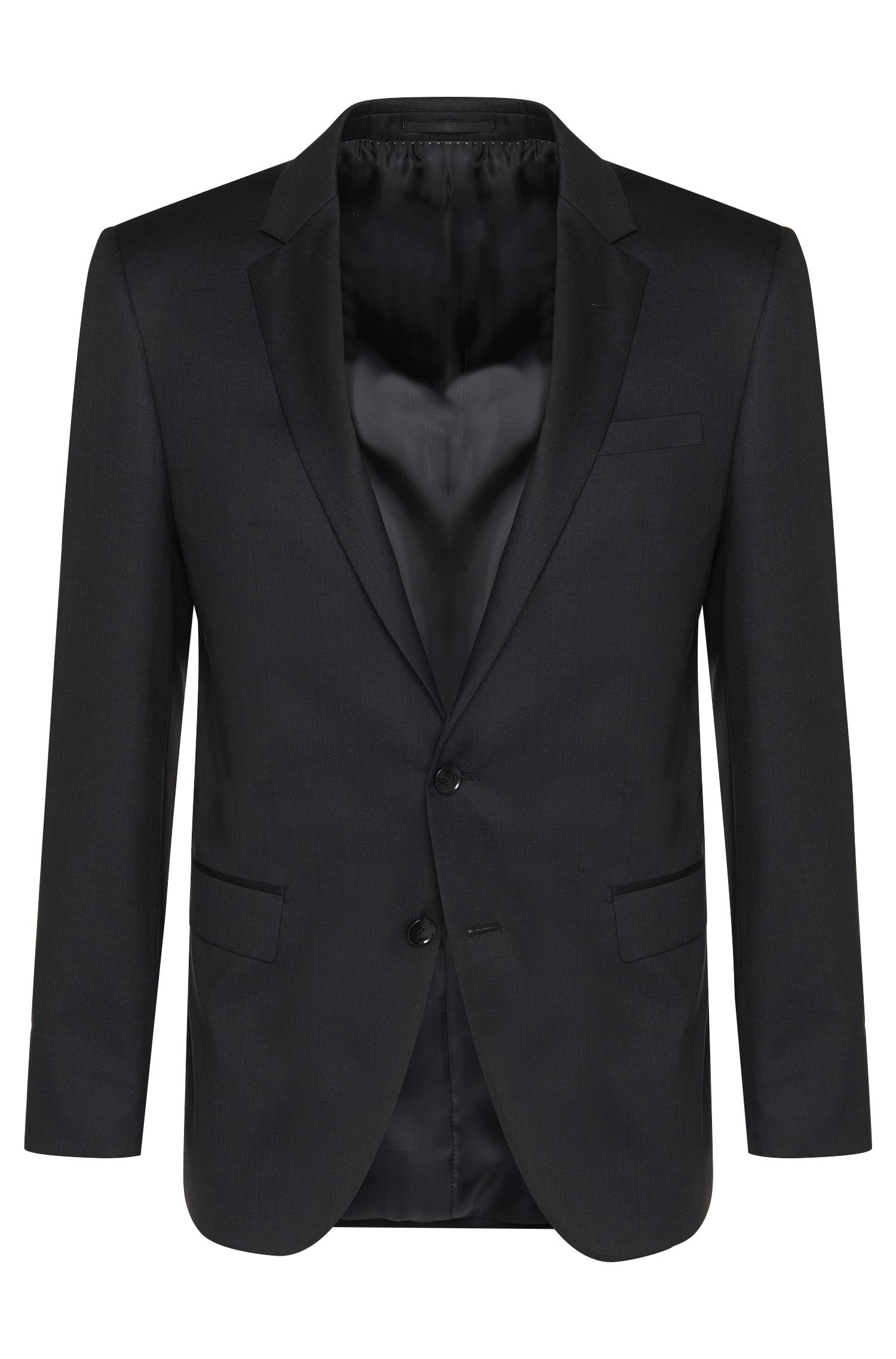Veste de costume Slim Fit Tailored en pure laine vierge : « T-Harvers2 »