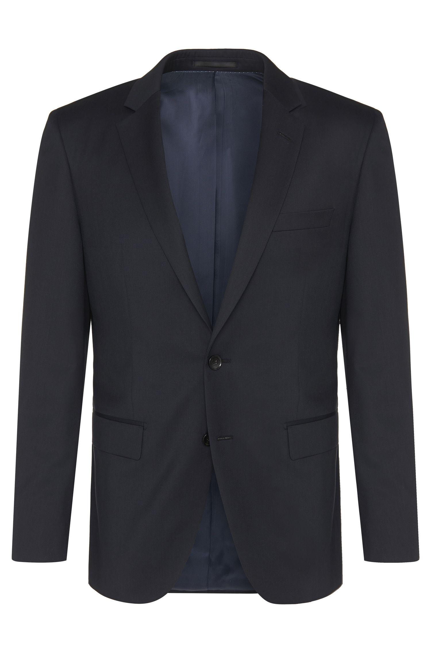Slim-Fit Tailored Sakko aus reiner Schurwolle: 'T-Harvers2'