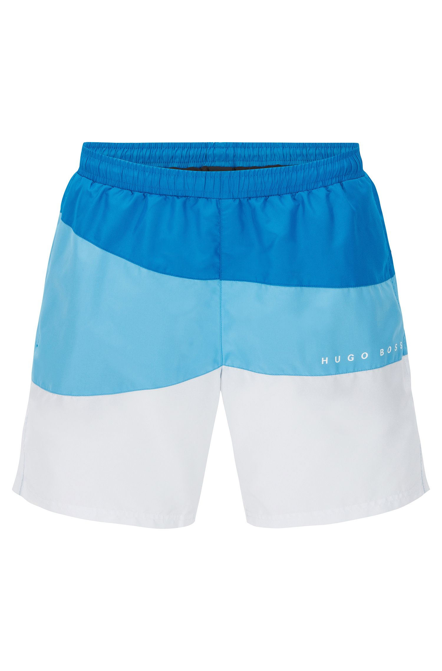 Quick-drying swim shorts with drawstring inside: 'Butterflyfish'