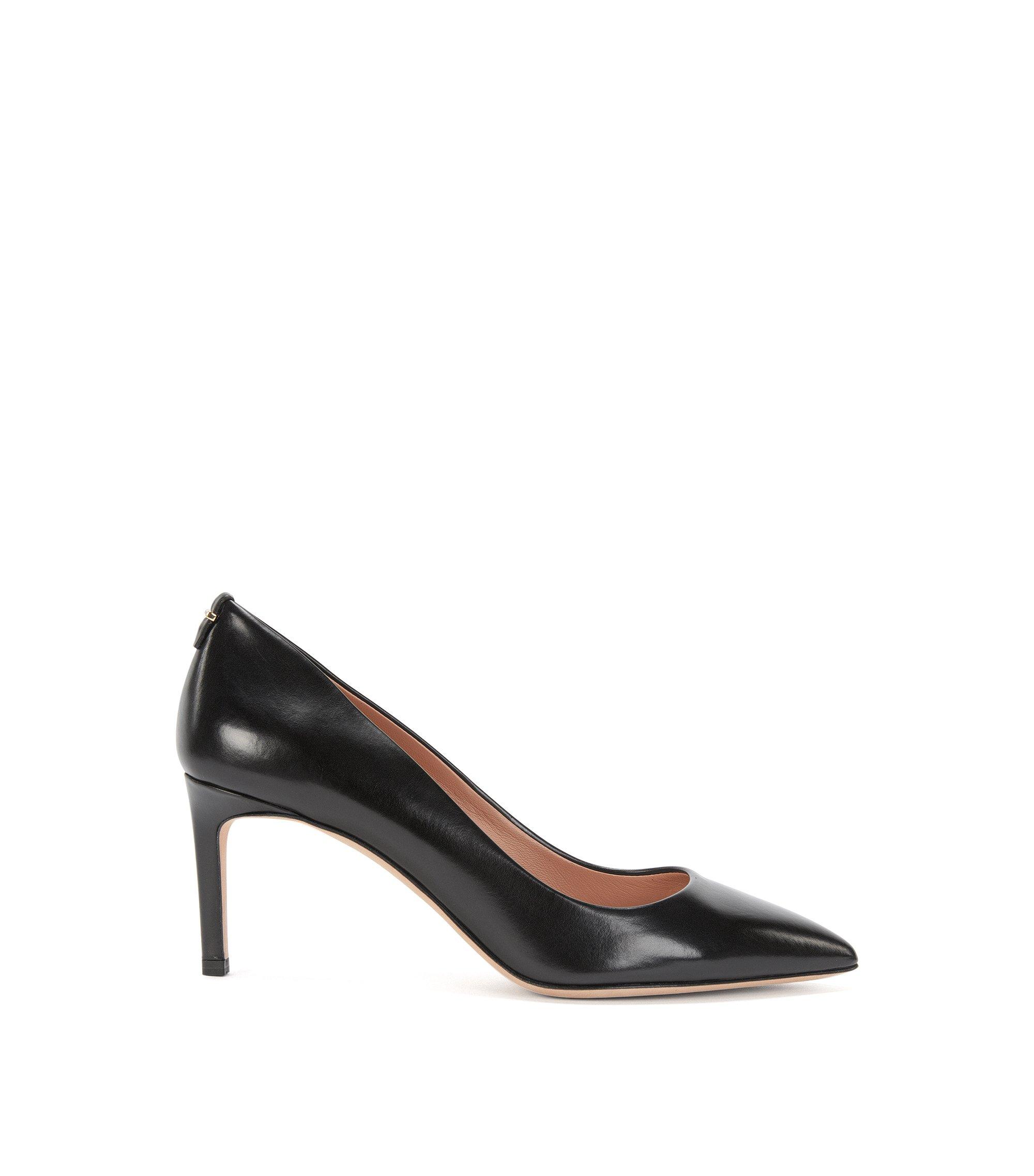 Escarpins Luxury Staple luxueux, en cuir italien noble , Noir