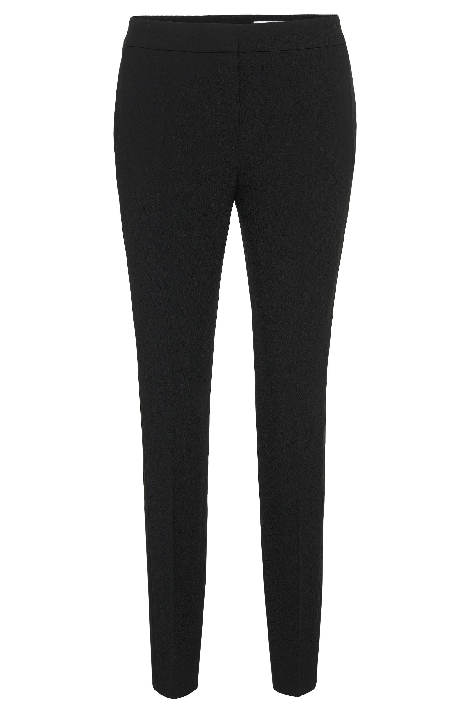 Regular-fit broek met galonstrepen: 'Tixida'