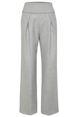 Relaxed-Fit Hose aus elastischem Material-Mix: ´Safolky`, Grau