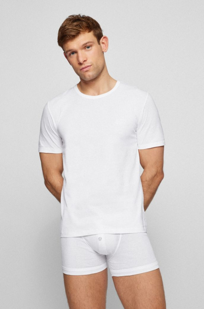 Three-pack of underwear T-shirts in cotton