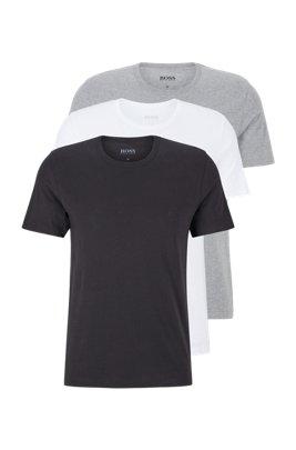 T-Shirts aus Baumwolle im Dreier-Pack, Assorted-Pre-Pack