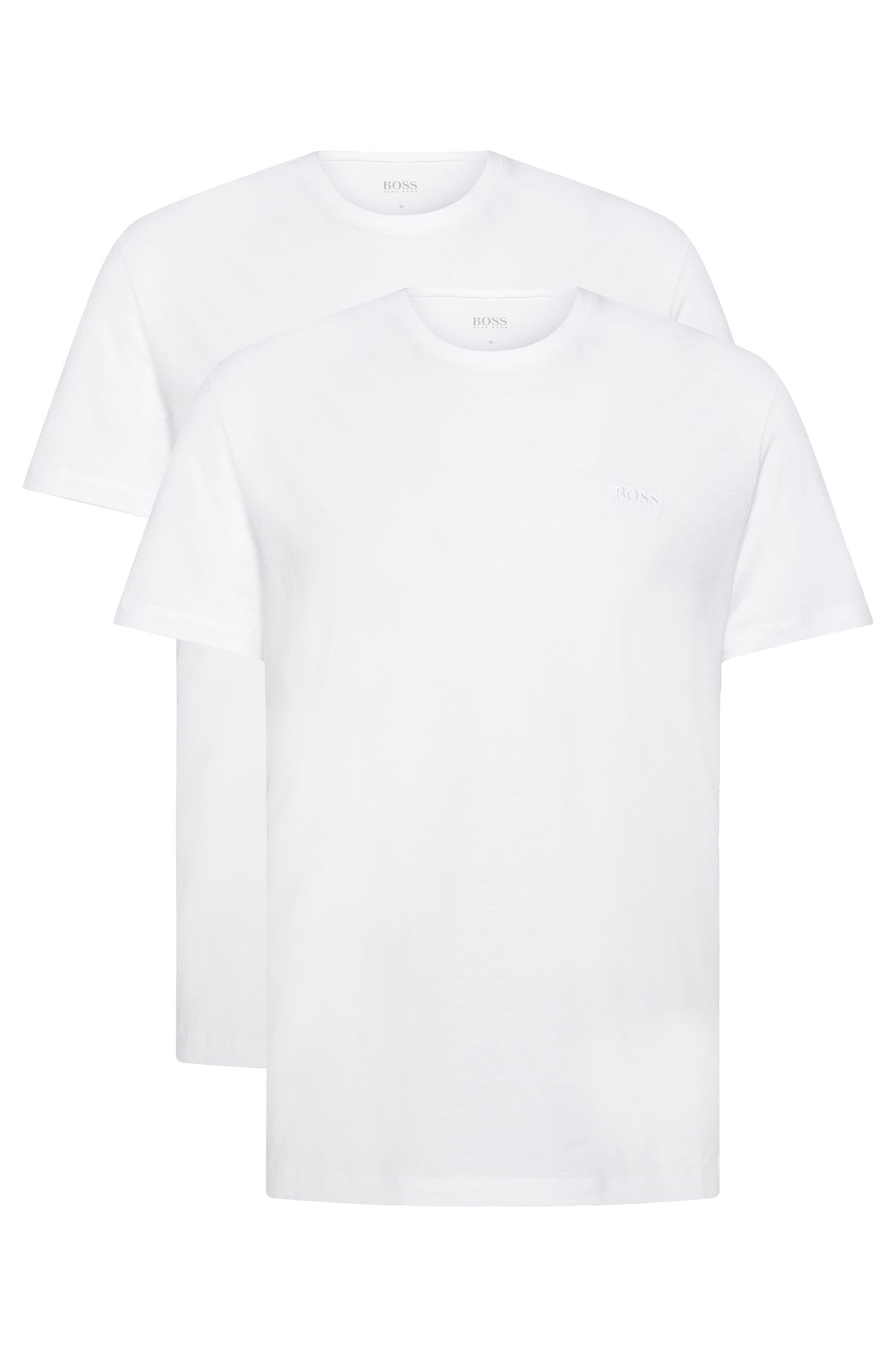 Two-pack of relaxed-fit T-shirts in cotton