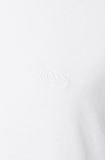 两件装休闲版棉质T恤,  100_白色