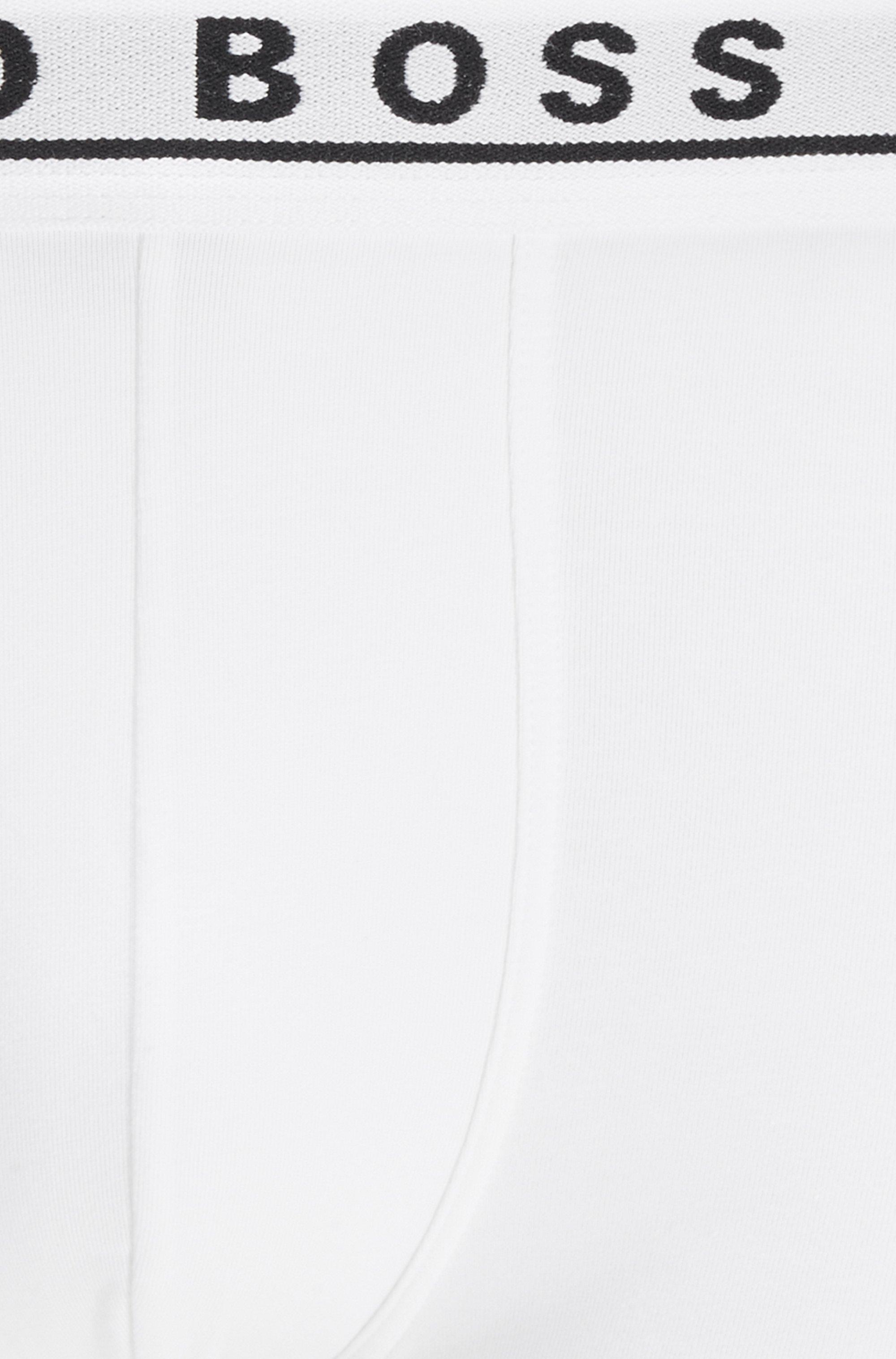 Dreier-Pack Boxershorts aus Stretch-Baumwolle mit Logo am Bund
