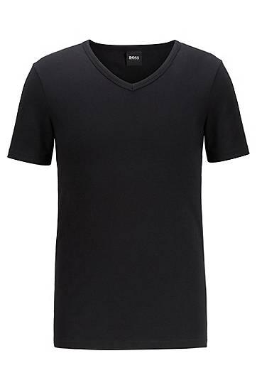 boss  Lot de deux t-shirts Slim Fit Slim fit Col V par LeGuide.com Publicité