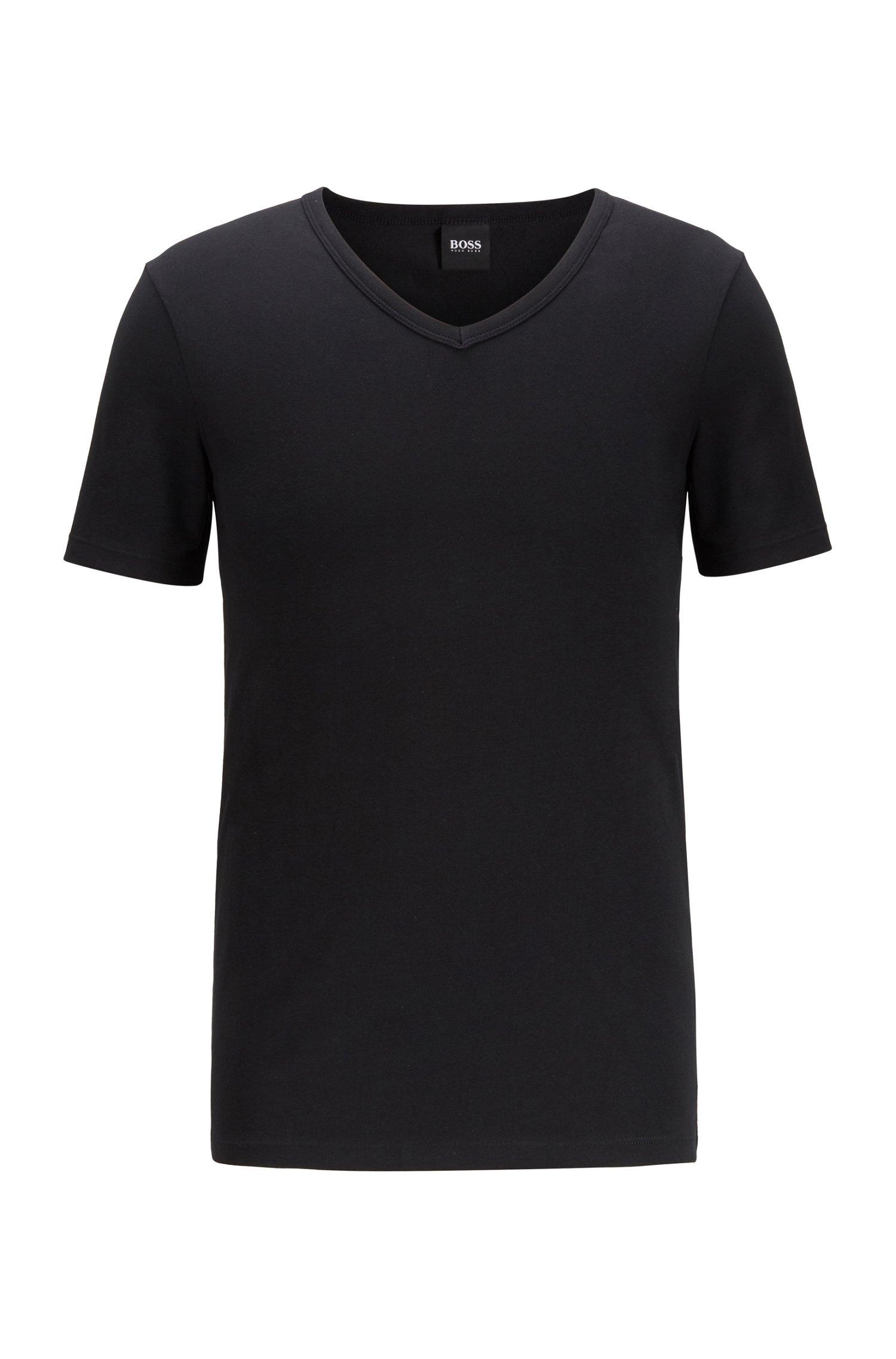 Zweier-Pack T-Shirts, Schwarz