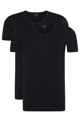 Slim-fit crew-neck vest in single jersey BOSS Cheap Visit Collections Cheap Online Knock Off goOhbXsRW