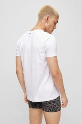 HUGO BOSS tee 4 T-shirt blanc